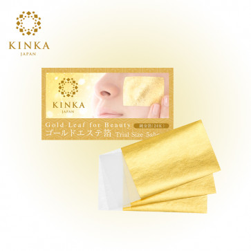 Kinka Gold Leaf For Beauty 24K - Trial Size From Japan