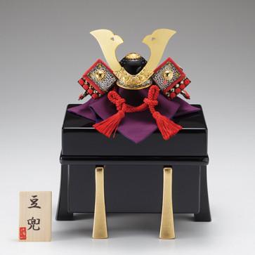 Boys' Day Doll: Compact Samurai Helmet from Japan