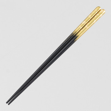 Chopsticks: Kasuminagashi [Gold/Large]【Free Shipping】