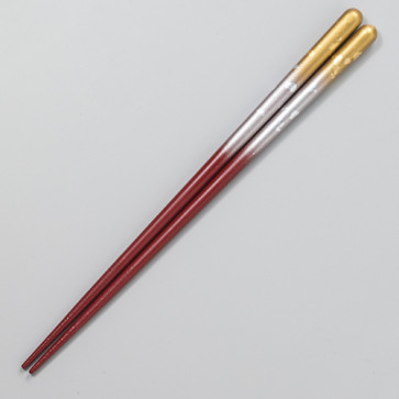 Chopsticks: Kasuminagashi [Gold x Silver/Medium]【Free Shipping】