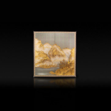 Rikyu Folding Screen: Landscape