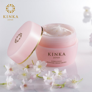 Kinka Gold Nano Lotion SAKURA from Japan