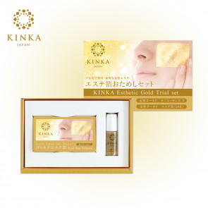 Kinka Esthetic Gold trial SET From Japan