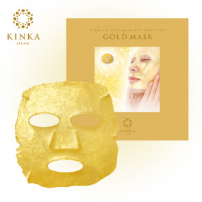 Kinka 24K gold mask From Japan.